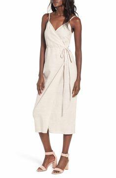 Nordstrom | WAYF Wrap Midi Dress | $39