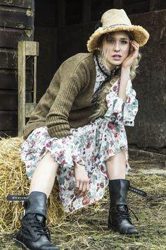 women's apparel , photography, countryside girl, country girl, country editorial, fashion , photography