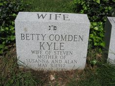 """Betty Comden - Lyricist, Screenwriter. Born Elizabeth Cohen in Brooklyn. Along with her longtime collaborator Adolph Green, she wrote the lyrics and often the librettos for some of the most celebrated musicals of stage and screen. During a professional partnership that lasted for more than 60 years, and which finally ended with Adolph Green's death in 2002, they created the stage shows """"On the Town,"""" """"Wonderful Town,"""" """"Peter Pan"""" and """"Bells Are Ringing."""""""