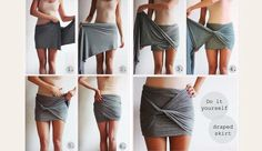 DIY Skirt. SO amazing!