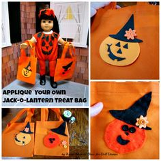 Easy Halloween Bags for dolls