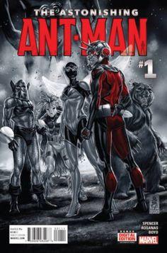 Astonishing Ant-Man #1 Marvel Comics (2015)