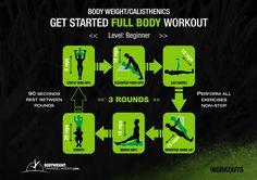 Basic Calisthenics Workout Routine For Begginers | bodyweighttrainingarena.com #workouts #calisthenics