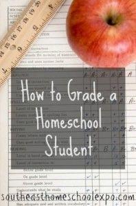 How to grade a homeschool student