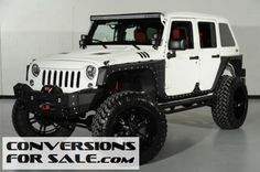 2014 Lifted Jeep Wrangler Unlimited Kevlar Coated Fastback