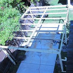 BuildEazy woodworking projects and free plans user photos and comments, page 6 Lean To Carport, Diy Carport, Free Standing Carport, Woodworking Plans, Woodworking Projects, Wooden Carports, Building A Pole Barn, Carport Designs, Under Decks