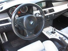 2006 BMW M5 V10 Engine, Head Up Display, Blue Books, Dream Garage, Rear Seat, Bmw M5, Cars, Autos, Car