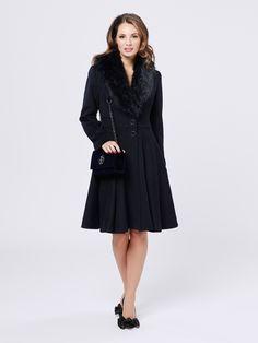 Minorca Coat | Midnight | Coat Mia Rosa Bag | Navy | Bag