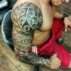 Nélio Cadar #tribal #maori #DiaDoTatuador #brasil #portugues