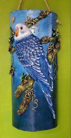 Taller Arte y Amor Tile Crafts, Clay Crafts, Diy And Crafts, Arts And Crafts, Clay Wall Art, 3d Wall Art, Art 3d, Bottle Painting, Bottle Art