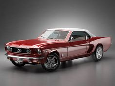 ford mustang 1960's - Have always wanted a red convertable mustang!