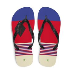 Volleybragswag Russia inspired volleyball flip flops available for volleyball players