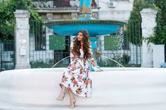 larisa costea, larisa costea blog, the mysterious girl, the mysterious girl blog, fashion blog, blogger, fashion, fashionista, it girl, travel blog, travel, traveler, ootd, lotd, outfit inspiration,look of the day,outfit of the day,what to wear, floral print, flowers,hydrangeas, hortensii, cotroceni, fantana, fountain, poppies, pocket full of poppies, artesian well, hair extensions, dainty, dainty jewells,dainty jewells dress,discount, sales, floral dress,floral print, cute dress