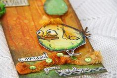 Tag Crazy Bird, Tags, Paper, Blog, Fun, Blogging, Mailing Labels, Hilarious