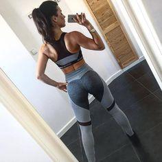 089da2935b984 Heart pattern mesh splice legging harajuku athleisure fitness clothing  sportswear elastic push up leggings women pants