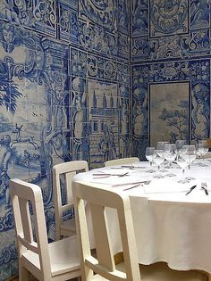 You May Be Wandering: Finding Blue and White Beauty in Portugal