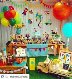 Baby Boy 1st Birthday Party, Gold Birthday, Birthday Ideas, Transportation Birthday, Boy Christening, Birthday Chalkboard, Birthday Decorations, First Birthdays, Gabriel
