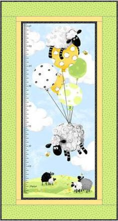 Karen's Quilts, Crows and Cardinals: 2016 Free Motion Quit Along - Susybee Growth Chart Girls Quilts, Baby Quilts, Free Motion Quilting, Crows, Cardinals, Charity, Applique, Sewing, Fabric