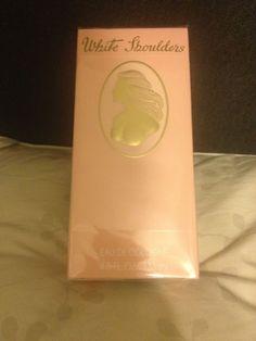 WHITE SHOULDERS 4.5 FL OZ EDC Eau De Cologne NEW IN SEALED BOX #WhiteShoulders