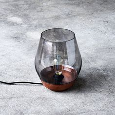 Bowl Table Lamp by New Works