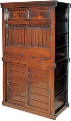 Japanese kitchen stack chest c1880
