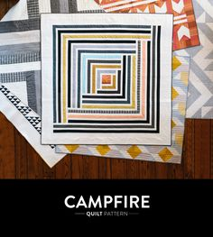 Campfire Modern Quilt Pattern