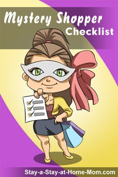 a complete mystery shopping checklist to Want to make money with mystery shopping jobs find out how here as well as some tips for getting the best shopping assignments and earning more.