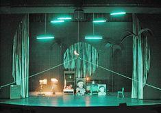 La Vie de Bohème. André Wilms, Scenic and Lighting design by Klaus Grünberg. 2001