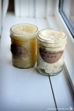 DIY Whipped Soap Base - Humblebee  Me.     need to go back and peruse this site. Lots of diy beauty recipes.