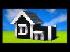 COMMENT CONSTRUIRE UNE MAISON AMÉRICAINE MODERNE ? Tuto Build Minecraft #americaine #build #comment