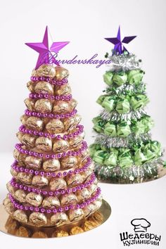 Шедевры кулинарии Christmas Tree With Gifts, Homemade Christmas Gifts, Christmas Candy, Xmas Gifts, Christmas Crafts, Christmas Centerpieces, Outdoor Christmas Decorations, Chocolate Flowers Bouquet, Dollar Tree Gifts