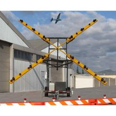 Runway Closer Marker | Lighted X Runway Closure Marker - Crowd Control Store