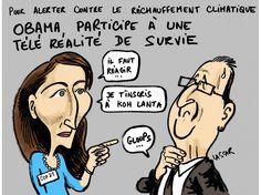 Obama Hollande émission de survie