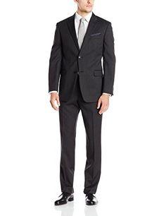 Tommy Hilfiger Men's Charcoal Twill Trim Fit 2 Button Side Vent Suit, Charcoal, 36 Short Tommy Hilfiger http://www.amazon.com/dp/B0156G6A2O/ref=cm_sw_r_pi_dp_ClhDwb1J7ATV7