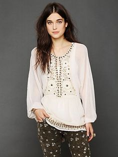 Indie Goddess Tunic. http://www.freepeople.com/whats-new/indie-goddess-tunic/ // Indie Clothing Brands & UK Streetwear || AcquireGarms.com