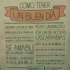 Feliz día. Feliz domingo y feliz inicio de semana.  #CambiaTuVida…