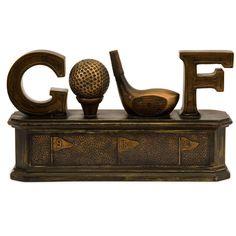 "Imax 12"" Golf Storage Box - Beyond the Rack"