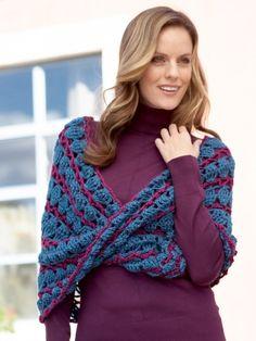 Lace Infinity Cowl | Yarn | Free Knitting Patterns | Crochet Patterns | Yarnspirations
