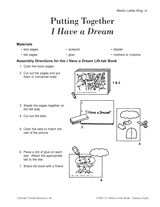 ''I Have a Dream'' Little Book http://www.teachervision.fen.com/african-american-history/printable/45976.html #MLK