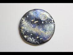 Polymer Clay Galaxy Mirror - YouTube