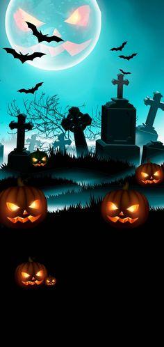 Happy Halloween Gif, Halloween Pictures, Halloween Art, Halloween Stuff, Phone Backgrounds, Wallpaper Backgrounds, Wallpaper Ideas, Iphone Wallpapers, Gothic Aesthetic