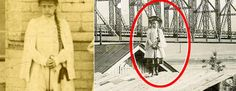 Quién es la niña fantasma?: El misterio de la chica que aparece en unas fotos tomadas hace 100 años #viral