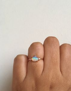 2-pieces Druzy adjustable Ring Beautiful Green dyed Color Or Natural White Combination Good Ethiopian Opal