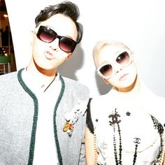 G-Dragon and CL | Chanel Cruise in Seoul (150504)