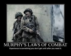 MILITARY HUMOR: Murphy's law of combat - Military humor