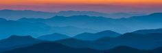 Cowee Mountain Look-out Sunset