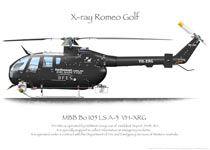MBB BO105 VH-XRG HeliWest