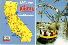 https://flic.kr/p/SB5Uqu | Postcrossing US-4532779 | Postcard from Knott's Berry Farm in Buena Park, California.  Sent to a Postcrosser in Singapore.
