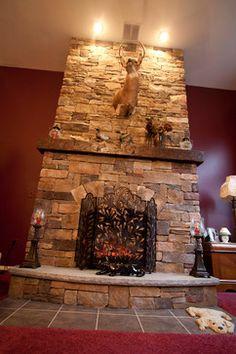 A girl can dream can't she?! Fireplace Renovations  Thomas Flint Landscape Design & Development