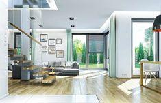 Projekt domu Kasjopea 7 175,95 m² - koszt budowy - EXTRADOM Modern House Plans, Modern House Design, American Houses, Home Goods, Sweet Home, Patio, Outdoor Decor, Furniture, Home Decor